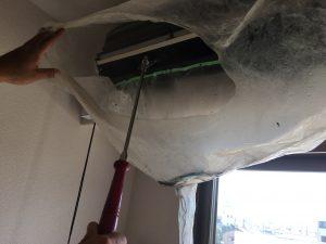 吹田市の老人ホームでエアコン洗浄